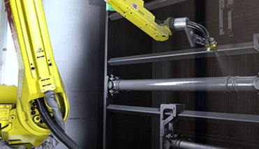 Tratamento de Superficies e pintura - Leax do Brasil - Eixo Cardan, Usinagem, Montagens e Tratamento Térmico para a Indústria Automotiva