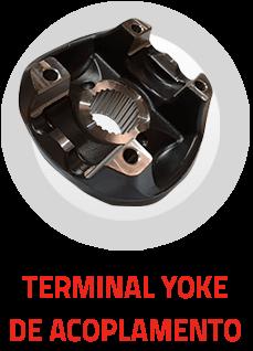 Terminal Yoke de Acoplamento - Leax do Brasil - Eixo Cardan, Usinagem, Montagens e Tratamento Térmico para a Indústria Automotiva