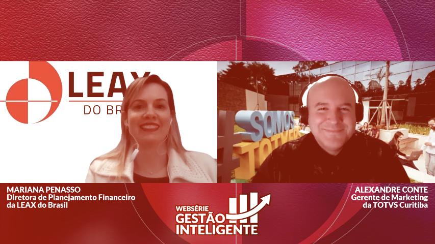 Gestão Inteligente   Websérie   Leax do Brasil